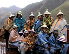 The Basotho people also known as Sotho, are Bantu people of the Kingdom of Lesotho (lusō'tō), an enclave within the Republic of South Africa. African Culture, African Art, African Style, African History, We Are The World, People Around The World, African Textiles, Out Of Africa, World Cultures