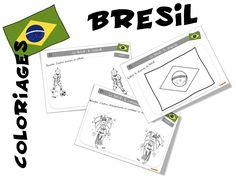Coloriages sur le Brésil