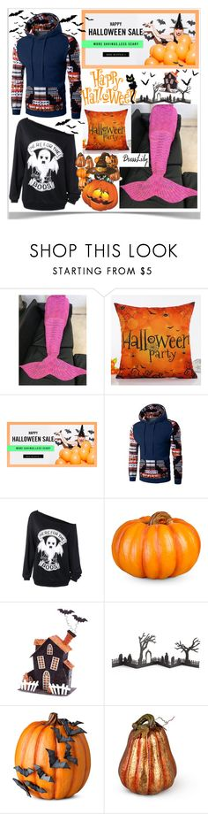 """Dresslily Helloween giveaway"" by almira-mustafic ❤ liked on Polyvore featuring Improvements, Melrose International and Crate and Barrel"