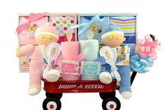 My First Doll Twins Baby Gift Basket