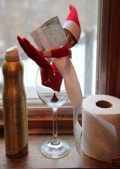 22 Genius Elf on the Shelf Ideas the Whole Family Will Love   http://slice.ca