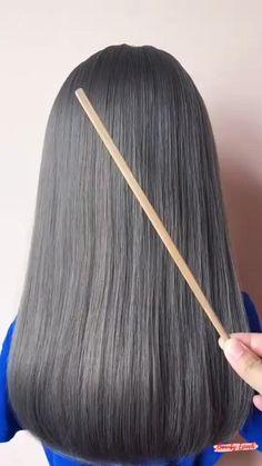Hairdo For Long Hair, Long Hair Video, Bun Hairstyles For Long Hair, Braided Hairstyles, Beautiful Hairstyles, Front Hair Styles, Medium Hair Styles, Curly Hair Styles, Natural Hair Styles