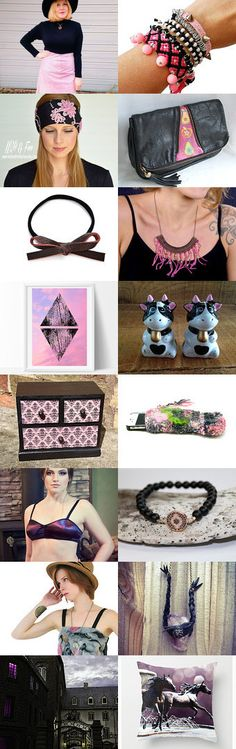 Unusual Pink by Tatin on Etsy--Pinned with TreasuryPin.com