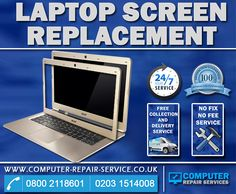 We are Computer repair service located in central London, We fix and repair all types of screen damage, so whether your screen is smashed, cracked, broken, and faulty or your machine simply does not turn on, we repair your laptop! More information at http://www.computer-repair-service.co.uk/laptop-screen-replacement/  #laptopscreenrepair  #laptoprepair