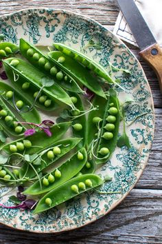 Orecchiette with Peas, Asparagus and Mascarpone | The Flourishing Foodie