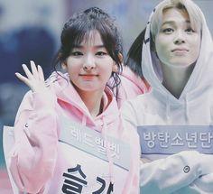 I hope they'll be in MAMA this year together ♥ ©® to @ahwchuu #jimin #parkjimin #polaristique #seulmin #seulgi #kangseulgi #ddeulgi #mochi #chimchim #redvelvet #bts #polaristique #seulmin #seulgi #seulminprotection #protectseulmin #vrene #jungri #wenhope #wenga #yoonseul #btsvelvet #bangvelvet #bellatrixia #satangelique Jimin Seulgi, Kang Seulgi, Redvelvet Kpop, Kpop Couples, Red Velvet Seulgi, Bts, Best Couple, Couple Goals, Movie Posters