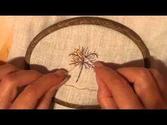 Видео 2 Мастер класс Вышиваем Листья - YouTube