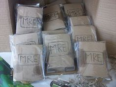 (Home made Chocolate Chip Cookies inside) Wrapped to look like mail drop packages Military Retirement Parties, Military Party, Military Homecoming, Military Send Off Party Ideas, Usmc Birthday, Army Birthday Parties, Camo Party, Nerf Party, Deployment Party