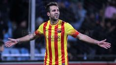 Barcelona star Cesc Fabregas has said he finds it difficult when he is whistled by the club's fans, but has grown used to living with criticism as his career has progressed. Fc Barcelona, Messi, Soccer, Football, City, Mens Tops, Spanish, Fashion, Club