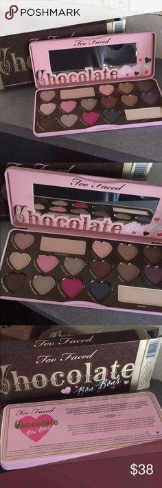 Too faced chocolate bon bon palette New in box. Sephora Makeup Eyeshadow