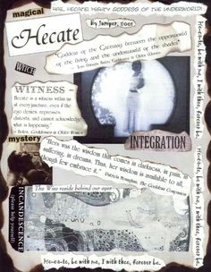 #Hecate #Goddess of the Cross Roads and #Magic