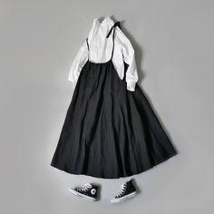 I Love Fashion, Fashion Details, Girl Fashion, Fashion Outfits, Womens Fashion, Olive Clothing, Dress Silhouette, Mori Girl, One Piece Dress
