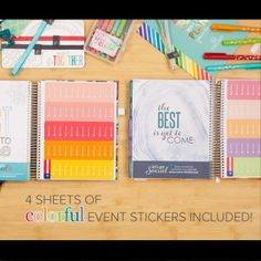 New Event Stickers!   Erin Condren planners will be available for pre-order June 9th! Use my referral code and get $10 off for new customers https://www.erincondren.com/referral/invite/kayleneklingert0525 #ECLifePlanner #ECadventure #erincondren #erincondrenlifeplanners #erincondrenlifeplanner @erincondren