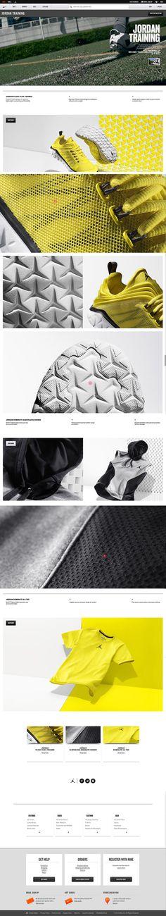 #webdesign #website #nike #jordanbrand #digital #branding