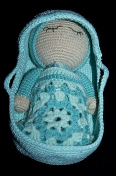 Ravelry: sleeping gumdrop and her mosses basket pattern by JBD JellyBean Dreams
