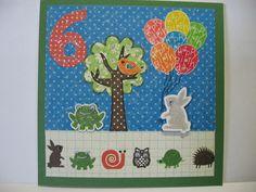 Thistledew Creations - Jackie Whitmarsh -Emmett's 6th b-day card