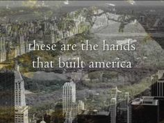 Hands That Built America - One of my all-time fave songs by my fave bands. The lyrics just blow me away....