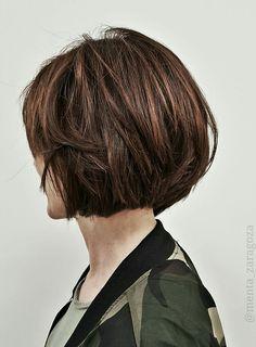 🔊BOB HAIR CUT 🕪  🔊BROWN COLORS🕪 para ISABEL en MENTA #bronde #@menta_zaragoza #zaragoza #instahair #instacool #bloggerzaragoza #balayage #timeglam #secretosdecoloristas