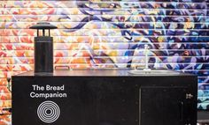 The Bread Companion - a moving, micro bakery. This is the trailer that houses everything you need for making bread - a wood fired oven, a sink and space for storing wood and ingredients.