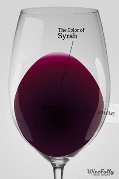 The Color of Syrah in a Wine Glass- article with some interesting profile and pairings