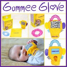 Baby always dropping teething toys out of the pram, resulting in the need for re-cleaning? Not anymore with Gummee Glove!
