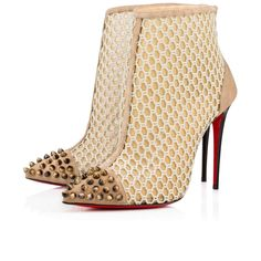 Shoes - Guniboot Fishnet - Christian Louboutin