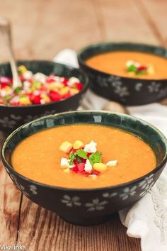 Clean Eating Butternut Squash, Corn Chowder with Tomato & Corn Salsa Recipe Clean Eating Soup Recipes