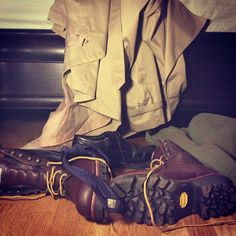 I love how to outsiders this looks like a pile of clothes. However, to Supernatural fans it means more... ;P #Destiel