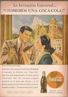 Coca Cola- Publicidad Gráfica Revista Selecciones 1944 - Colombia