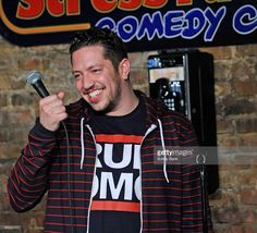 Sal Vulcano of The Impractical Jokers performs at The Stress Factory Comedy Club on April 2, 2013 in New Brunswick, New Jersey.