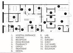 Hospital Floor Plan, Veterinarian Career, Office Floor Plan, Vet Office, Medical Office Design, Downers Grove, Pet Clinic, Veterinary Medicine, Animal Shelter