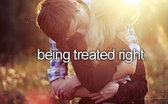 one day i will find the man of my dreams who will treat me better than i ever thought (: