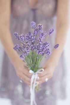 simple lavender bouquet