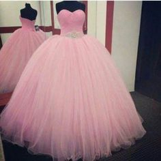 Quinceanera Dresses,Long Prom Dresses Ball Gown,Pink Prom Dresses,Formal Sweet 16 Dress,Sweet 15 Dresses, Puffy Tulle Prom Dress Beaded,Pageant Dress,Sweetheart Prom Dresses
