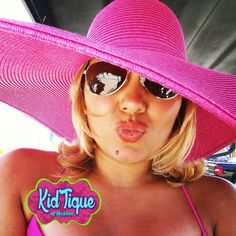 Fab summer hats great for props and photo shoots also only at KidTique of Mcallen