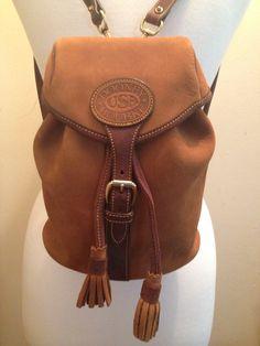 Vintage Dooney & Bourke Backpack (Unused)