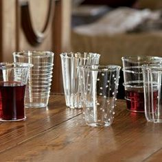 Venetian-Style Glass Tumblers from NapaStyle