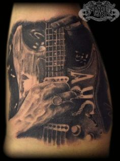 Stevie Ray Vaughan by state-of-art-tattoo.deviantart.com on @deviantART