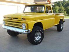 1964 Yellow Chevy Truck #OriginalSideBySide www.originalsidebyside.com