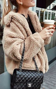 Cute Cozy Warm Fall Back to School Outfit Ideas for Teens for College – Aurora Popular Oversized Soft Comfy Sherpa Teddy Jacket Pixie Coat I am gia du… – Winter Coat Casual Fall Outfits, Outfits For Teens, Trendy Outfits, Cool Outfits, Teen Fashion, Fashion Outfits, Fashion 2016, Steampunk Fashion, Gothic Fashion