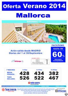 MALLORCA Hasta 60% Hotel Bahamas salidas desde Madrid ultimo minuto - http://zocotours.com/mallorca-hasta-60-hotel-bahamas-salidas-desde-madrid-ultimo-minuto/