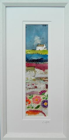 ''The many layers of summer'' by Louise O'Hara of Drawntostitch https://www.facebook.com/DrawntoStitch