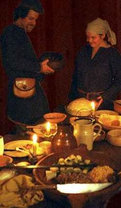 An article, from a reenactment group that seems to know their stuff, about Vikings and food. The whole site is rather neat, too bad they are across the country from me :(