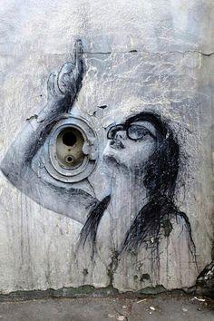 Street Art in Vitry-sur-Seine, Paris