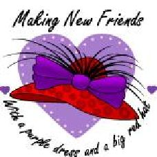 Helpful Links - Making New Friends Red Hat Club, Red Hat Ladies, Wearing Purple, Red Hat Society, Pink Hat, Queen, Red Hats, Red Purple, New Friends
