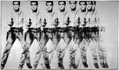 """The Andy Warhol Foundation$100m-worth of Elvises """"EIGHT ELVISES"""" is a 12-foot painting that has all the virtues of a great Andy Warhol: fame, repetition and the..."""