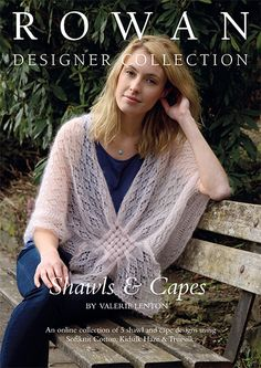 c9ffa6d700083 Rowan Valerie Lenton Shawls  amp  Capes Designer Collection - Rowan Yarns  RYC Sirdar Sublime English