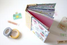 Hoy Núria nos trae un tutorial de un mini álbum muy versátil y que admite un montón de páginas con la colección Finders Keepers de Amy Tangerine