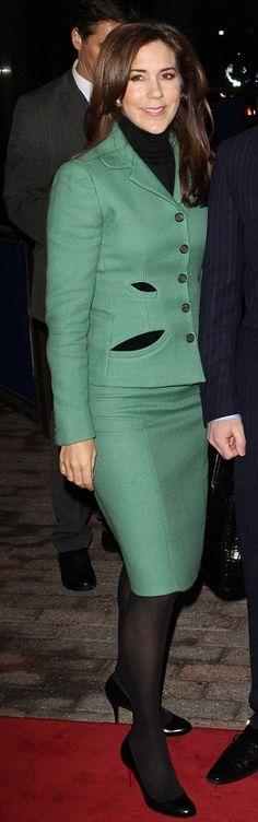 Princess Mary of Denmark...