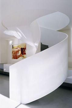 Concrete House in Melbourne, Australia - Staircase